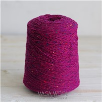 Пряжа Твид Soft Donegal Фуксия 5566, 190м в 50г. Knoll Yarns, Fuschia