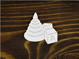 Пирамидка с кубиками