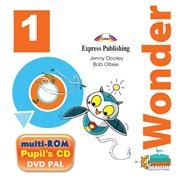 i-Wonder 1. Pupils Multi Rom Pal (International). Аудио CD/ DVD видео