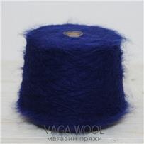 Пряжа Lilu из сури альпака, Синий средний, 130м/50г, Lama Lima