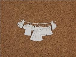 Одежда на верёвочке