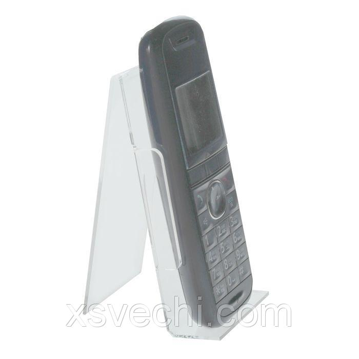 Подставка под телефон с ограничителем 55*70*130
