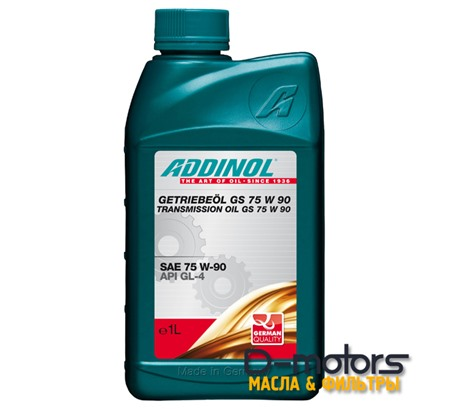 ADDINOL GS 75W-90 GL-4 (1л)