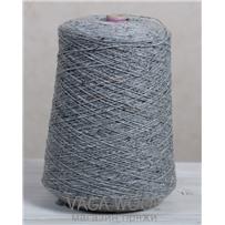 Пряжа Твид-мохер, Серебряный колокольчик 2604, 110м/50г,  Knoll Yarns, Mohair Tweed, Silver Bell