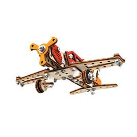 M-WOOD Конструктор 3D деревянный винтовой M-WOOD Самолет