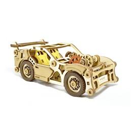 M-WOOD Конструктор 3D деревянный M-WOOD Спорткар Velox