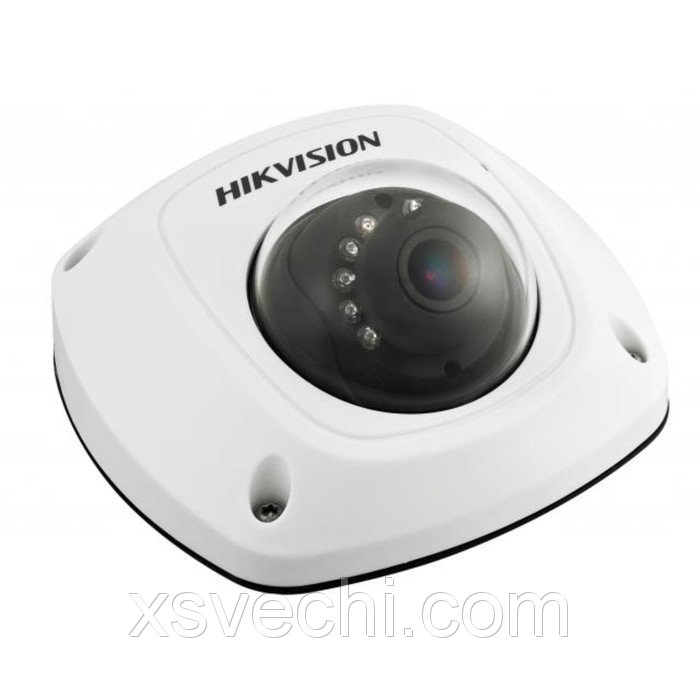 Видекамера антивандал Hikvision DS-2CD2512F-IS (2.8), IP, 960P, 1.3 Мп