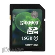 Карта памяти Kingston SDHC 32GB Class 10 UHS-I(SD10V/32GB)