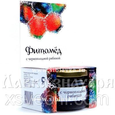 Фитомёд с черноплодной рябиной