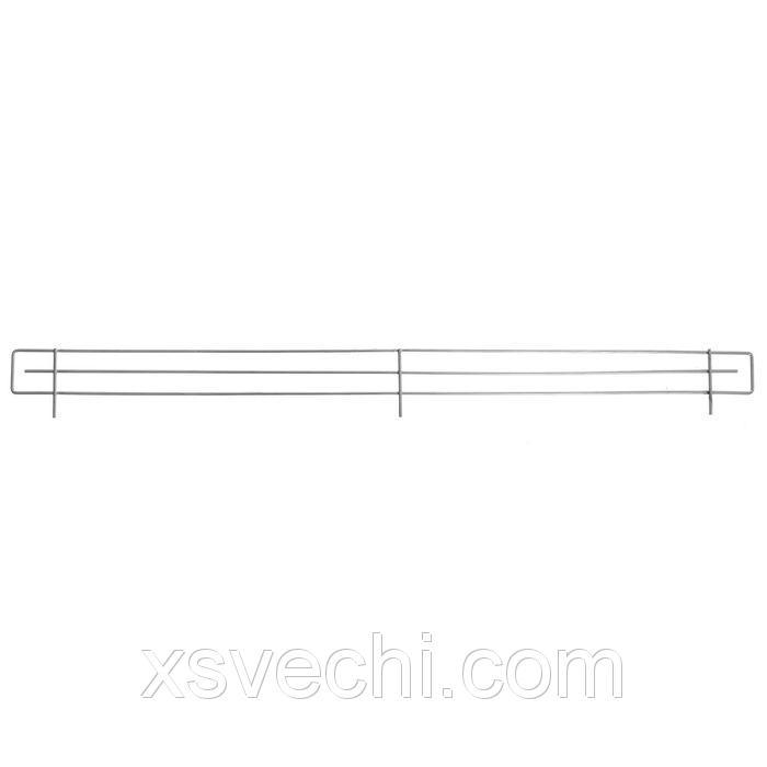 Ограждение проволочное фронтальное, 6 см, хром
