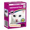 Консервы Bozita Salmon&Clam для кошек с лососем и мидиями кусочки в желе (370 гр)