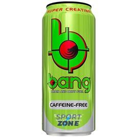 "Напиток (VPX) BANG 473мл ""Caffeine Free"" Sour Heads (12 шт.)  Кислое яблоко"