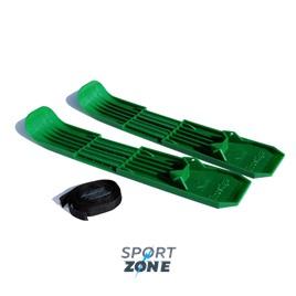 Лыжи пластиковые с креплением детские