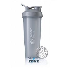 Шейкер для спортивного питания BlenderBottle Classic Full Color 946мл Pebble Grey [серый графит]