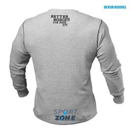 Мужской свитер Better bodies Thermal flex l/s, серый