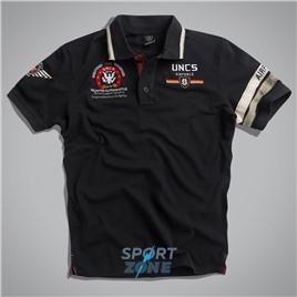 Мужская футболка поло US AIRFORCE II NAVY UNCLE SAM