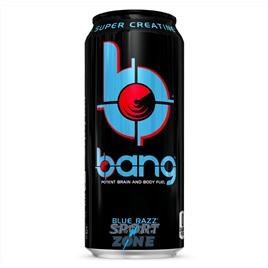 Напиток (VPX) BANG 473мл Blue Razz (12 шт.). Ежевика.