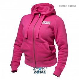 Толстовка женская Better bodies soft hoodie, розовая