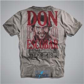 Мужская футболка US ESCOBAR T-SHIRT II GREY UNCLE SAM