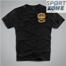 Мужская футболка US WILD & FREE BLACK UNCLE SAM