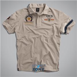 Мужская футболка поло US AIRFORCE II GREY UNCLE SAM