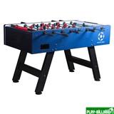 Настольный футбол (кикер) «Milan» (144 х 75,5, х 89 см, сине-черный), интернет-магазин товаров для бильярда Play-billiard.ru