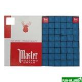 """Мел """"Master"""" (144 шт) синий, интернет-магазин товаров для бильярда Play-billiard.ru"""