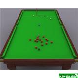 """Бильярдный стол для снукера """"SAMPEL"""" 12 ф ( черный), интернет-магазин товаров для бильярда Play-billiard.ru"""