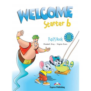 welcome starter b student's book - учебник