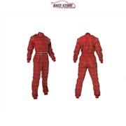 Однослойный комбинезон Akracewears (красный)