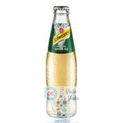 Schweppes Ginger Ale - газированный напиток 0,2л в стекле - 24шт. в упаковке