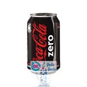 Coca-Cola Zero 0,33л в банке - 24шт. в упаковке