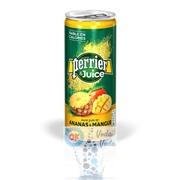 Perrier 0,25 Ананас и Манго (Pineapple & Mango) фруктовый напиток - 24 шт.