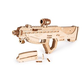 Wood Trick Механическая сборная модель Wood Trick Штурмовая винтовка USG-2
