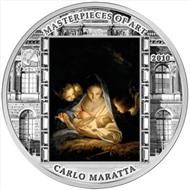 кука 2010 «Святая ночь» Карло Маратта Тираж 1655 шт