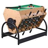 Игровой стол «Mini 3-in-1» (футбол, аэрохоккей, бильярд), интернет-магазин товаров для бильярда Play-billiard.ru