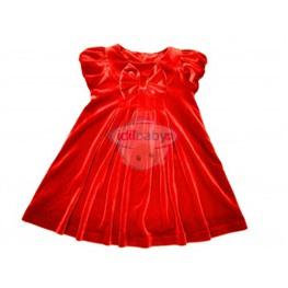 Платье бархатное для девочки.