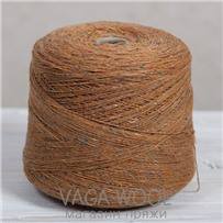 Пряжа Твид-мохер Золотой пепел 2725, 200м/50гр. Knoll Yarns, Mohair Tweed, Golden Ash