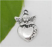 Подвеска Ангел с сердцем