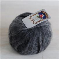 Пряжа Кашемир Welfine G, Серый 4151, вспушенный, 40м в 25г