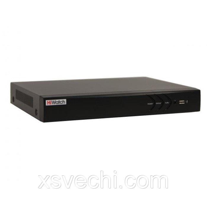 Видеорегистратор HiWatch DS-N316/2P, IP, 16 каналов, POE