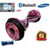 Гироскутер  Smart balance wheel 10.5 new Premium галактика фиолетовый
