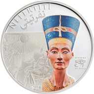 1 $ НЕФЕРТИТИ о-ва Кука 2013
