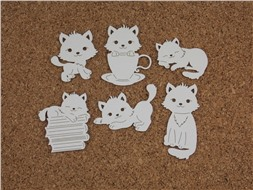 Набор чипбордов Котёнок