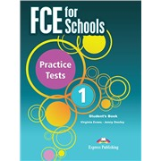 FCE for Schools 1 Practice Tests  Student's book - учебник (2014 год)