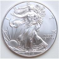 Американский орел 1 доллар 2014 серебро