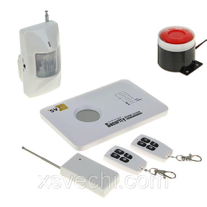 Охранная GSM система Spezvision H-17, беспроводная, контроль с мобильного
