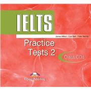 ielts practice tests 2 class cd - диски для занятий в классе (set 2)