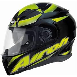 Шлем интеграл MOVEMENT SHOT чёрный/желтый M