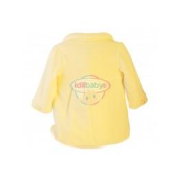 Пальто для девочки велюровое